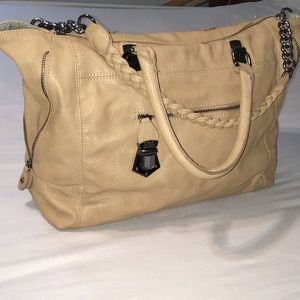 🌻Steve Madden Hobo tote, tan with Removable strap